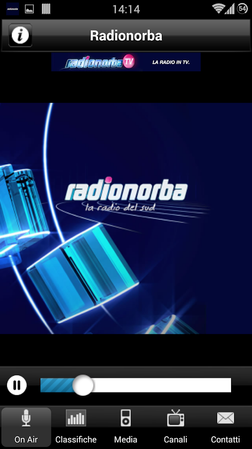 Radionorba- screenshot