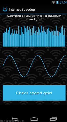 Internet Speedup