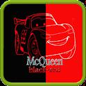 Mcqueen black red wallpaper icon