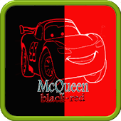 Mcqueen black red wallpaper