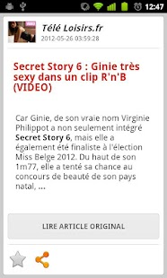 Secret Story 6 Alert - screenshot thumbnail