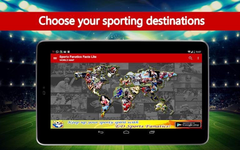 Screenshot 1 Sports Fanatics Lite