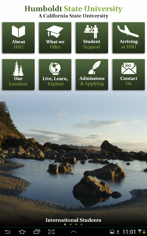 Humboldt State University - screenshot