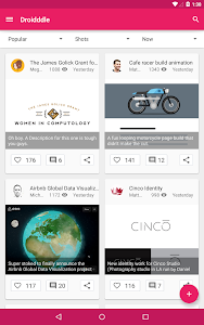 Droidddle - the Dribbble app v3.0.0