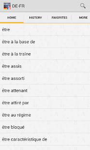 German<>French Dictionary TR- screenshot thumbnail