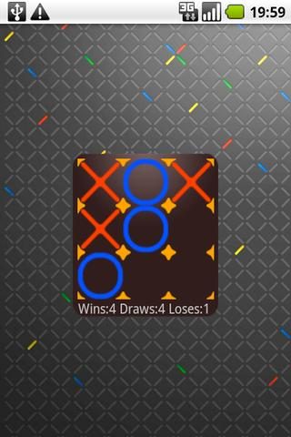 Tic Tac Toe Widget- screenshot