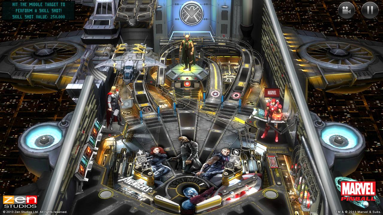 Marvel Pinball - screenshot
