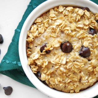 Chocolate Chip Cookie Baked Oatmeal