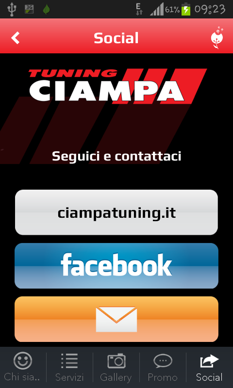 Ciampa Tuning- screenshot