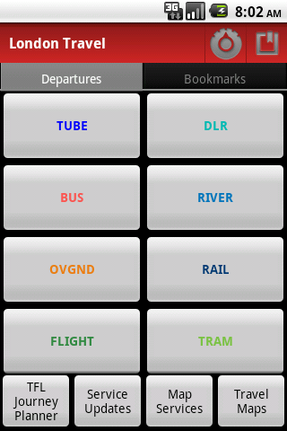 London Travel - screenshot