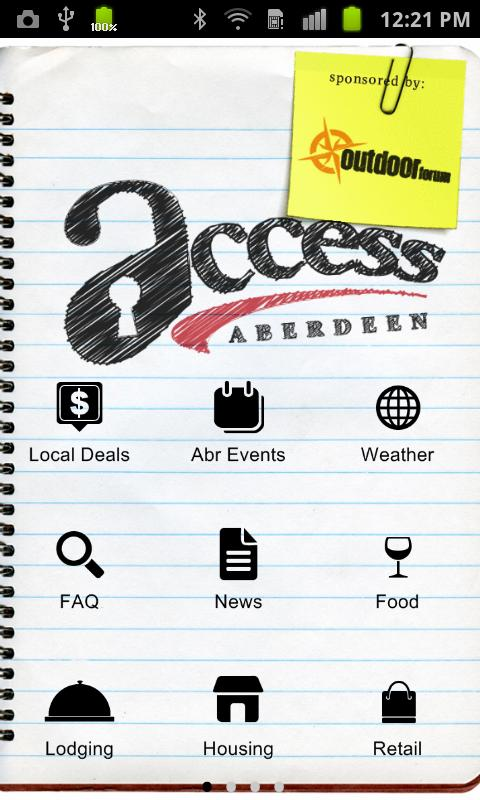 Access Aberdeen South Dakota - screenshot