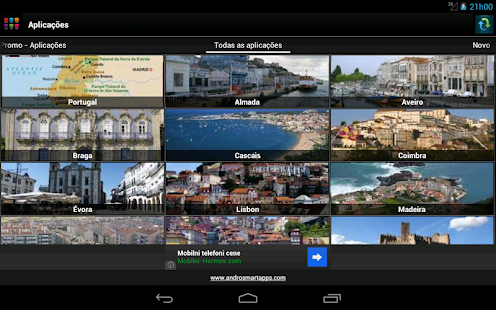 Portuguese applications - screenshot thumbnail