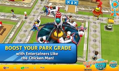 Theme park costruisci il tuo parco giochi virtuale su android for Giostre net usato