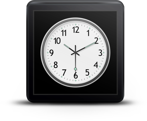 Cairo Clock for Android Wear - screenshot