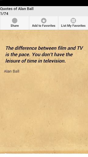 Quotes of Alan Ball