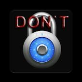 Dont lock me