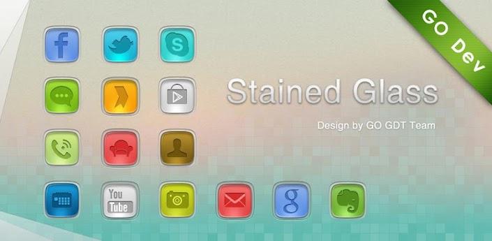 StainedGlass GO Launcher Theme apk