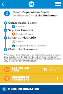 MetroRio – Official Rio Subway - náhled
