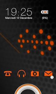 Sense Orange Go Locker theme