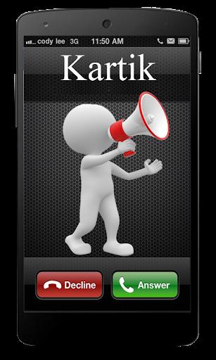 Caller Name Speaker: Incoming
