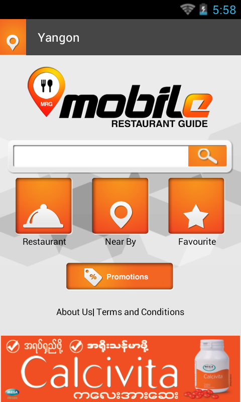 Mobile restaurant guide android apps on google play for Restaurant guide