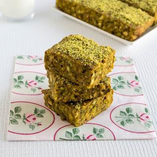 Glutenfree butternut squash pistachio bars
