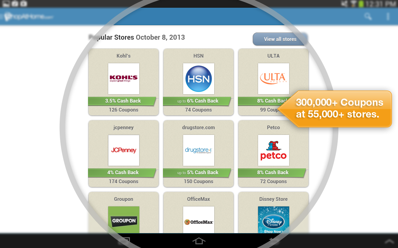 Shopathome coupons android apps on google play Shop at home