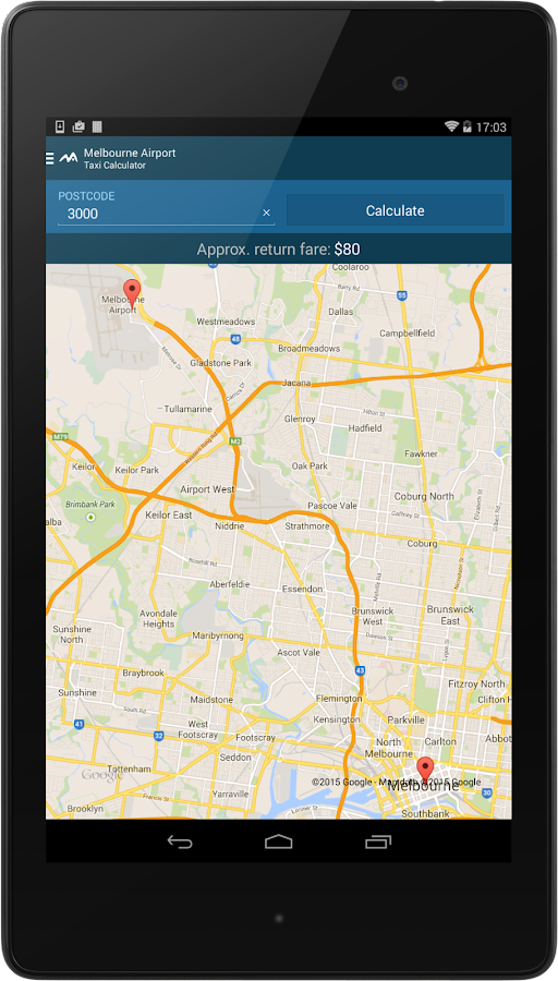 Melbourne Airport- screenshot