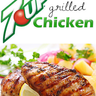 7UP Grilled Chicken Recipe and $125 Cash Giveaway
