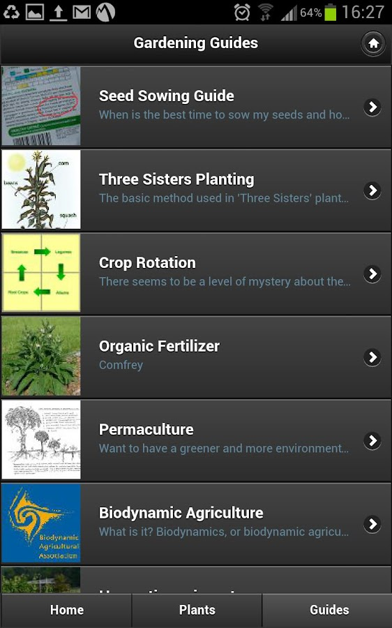 Gardeners Calendar - screenshot