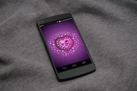 Diamond Heart 3D LiveWallpaper screenshot 4