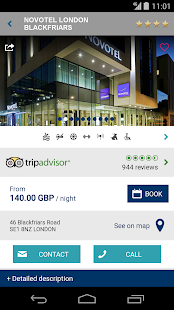 Novotel Hotels - screenshot thumbnail