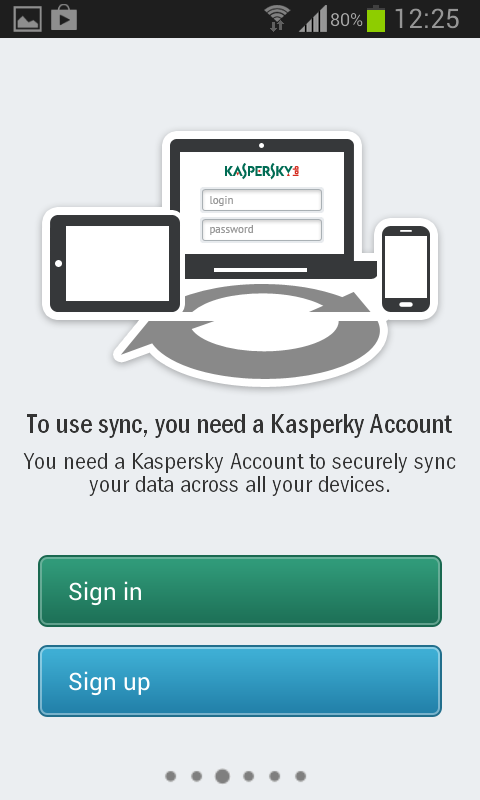 Kaspersky Password Manager - screenshot