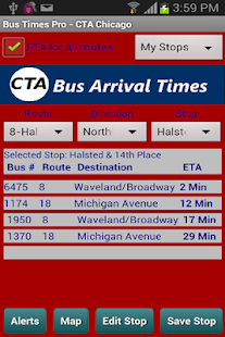 CTA Bus Tracker Pro - screenshot thumbnail