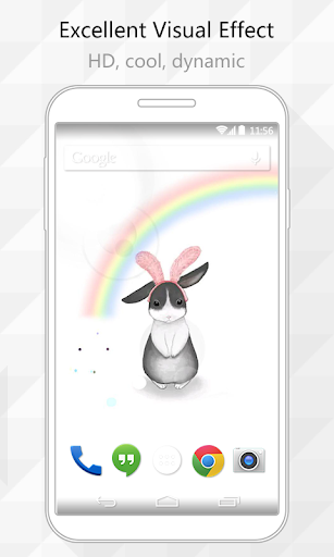 Rabbit Ear Live Wallpaper