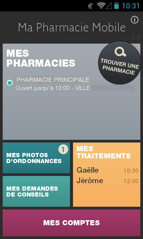 Ma Pharmacie Mobile – Capture d'écran