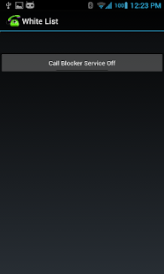 Whitelist Call Blocker- screenshot thumbnail