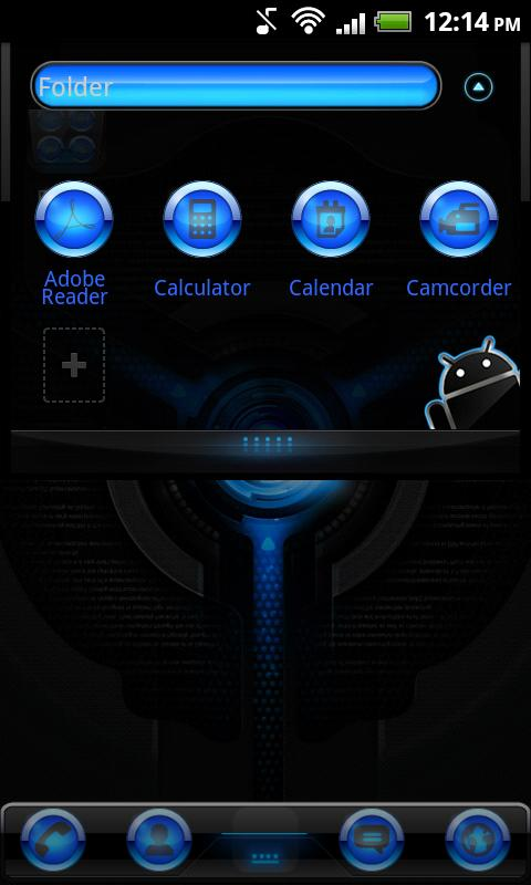 Go Launcher EX Black Mexdroid- screenshot