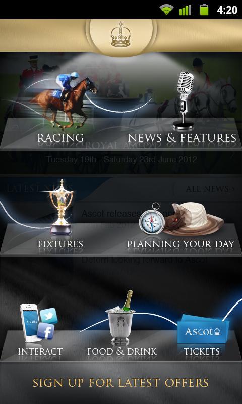 Ascot Racecourse- screenshot