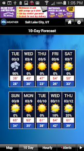 KSL Weather - screenshot thumbnail