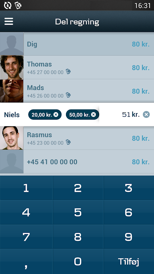 MobilePay by Danske Bank - screenshot