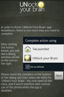 UNlock your brain - time4math - screenshot thumbnail