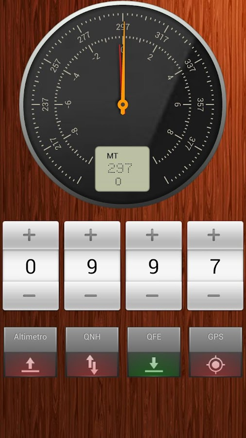Barometer & Altimeter- screenshot