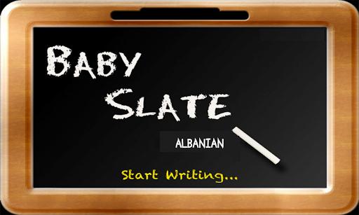 Baby Slate - Albanian