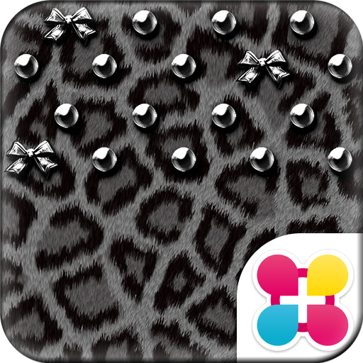 銀色豹紋 for[+]HOME 個人化 App LOGO-APP試玩