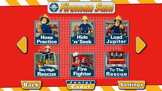 Fireman Sam - Junior Cadet - screenshot thumbnail