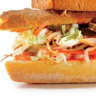 Vietnamese Sub Sandwich.