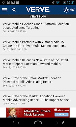 Verve Local Marketplace Offers