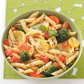 Pasta with Fresh Vegetables.