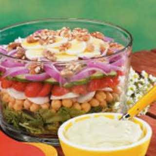 Hearty Layer Salad.